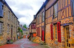 Domfront - Normandia, France