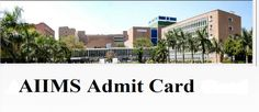 AIIMS – Operation Theater Assistant Exam 2016 - Admit Card Released  AIIMS – Operation Theater Assistant Exam Admit Card 2016 : All India Institute of Medical Sciences (AIIMS), New Delhi has released call letter for attending examination for the post of Operation Theater Assistant. Examination will be held on 14-01-2017. Candidates who have applied for this post can download their call letter at below link…