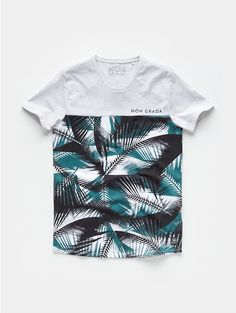 Print T-shirt Lightgrey - The Sting