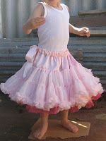 How to: Pettiskirt - every little girl needs one of these, I see it paired with converse high tops and a jean jacket.