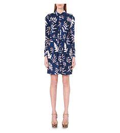 DIANE VON FURSTENBERG Jones Silk-Jersey Dress. #dianevonfurstenberg #cloth #dresses