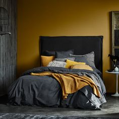 35 Productive Techniques for Yellow Bedroom Walls You Can Use Starting Immediat. 35 Productive Techniques for Yellow Bedroom Walls You Can Use Starting Immediately - grhaku Small Room Bedroom, Bedroom Wall, Girls Bedroom, Bedroom Decor, Modern Bedroom, Contemporary Bedroom, Cozy Bedroom, Farmhouse Contemporary, Couple Bedroom