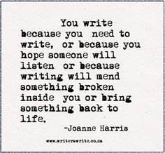 This I how I feel. Writing eases the desperation inside.