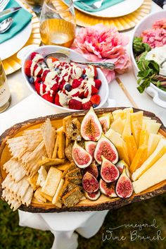 Cheese plates, berries with créme anglaise, beet scones and more! Find delicious brunch recipes through this farm-to-table series.