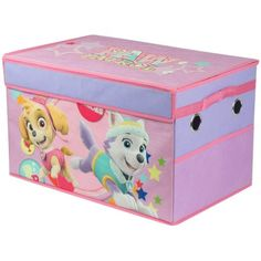 Superieur Paw Patrol Girl Collapsible Toy Storage Trunk, Multicolor