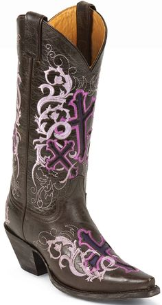 Look at this Justin Boots Sepia Calf Cowboy Boot - Women on today! Womens Cowgirl Boots, Boho Boots, Western Boots, Country Boots, Western Outfits, Western Wear, Justin Boots, Clothes Horse, Girls Wear