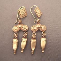AFGHANI GOLD20CT EARRINGS