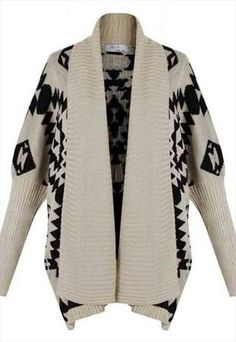 3c40573e128fe6 I really want an Aztec style cardigan for fall. Aztec Cardigan