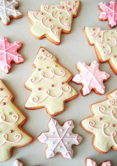Perla del árbol de navidad galletas de azúcar, delicioso dulces de Navidad, Árbol de Navidad Galletas Recetas