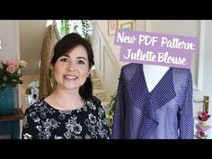 See the Juliette Blouse on the Vlog