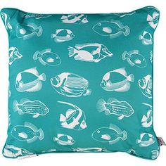 Aqua Sea Inspired Cushion 45cm x 45cm