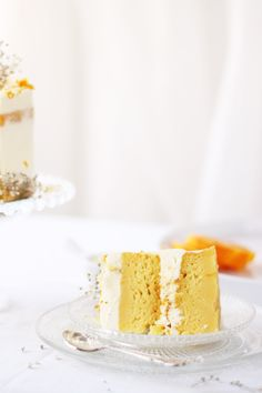 white chocOlate and orange cake