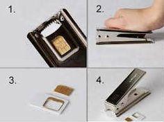 Mikro Sim Kart Kesici Samsung iPhone-KARGO BEDAVA 10.50 TL