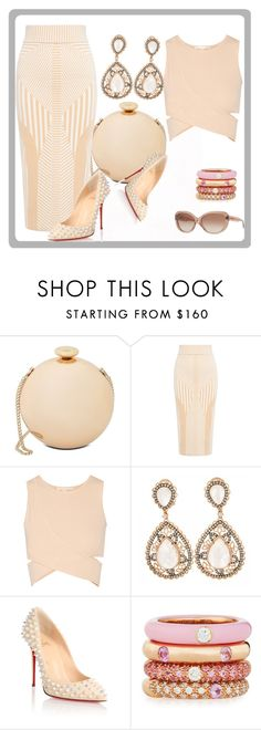 """""""Untitled #226"""" by sty-l-ista ❤ liked on Polyvore featuring Love Moschino, Finders Keepers, Jonathan Simkhai, Christian Louboutin, Adolfo Courrier and DKNY"""