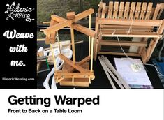 Historic Weaving – Weave with me.
