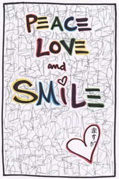 ☮ American Hippie Quotes ~ Peace Love and Smile :)