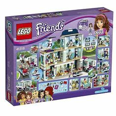 Lego 41318 Friends Heartlake Hospital Pieces) for sale online Lego Friends Sets, All Friends, Lego Girls, Toys For Girls, Girl Toys, Lego Batman, Shopkins, Legos, Lego Activities