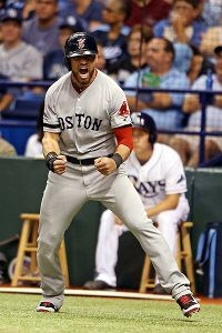 """"""" I felt a great disturbance in RED SOX Nation, as if millions of pinkhats suddenly cried out in terror & were suddenly silenced."""" #EllsburyIsAYank - Jacoby Ellsbury"""