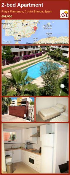 2-bed Apartment in Playa Flamenca, Costa Blanca, Spain ►€99,950 #PropertyForSaleInSpain