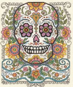 Sugar Skull - Cross Stitch Pattern