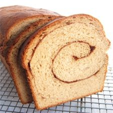 100% Whole Wheat Cinnamon Swirl Bread. Moist, aromatic, delicious cinnamon-swirl bread; the nuttiness of the wheat and the earthy, assertive flavor of cinnamon play very nicely together.