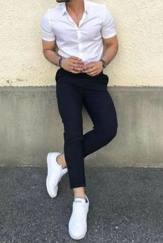 Inspiring Casual Work Outfit Ideas For Men 38