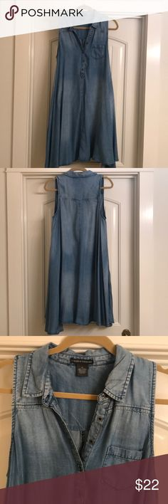 97e69583ff Chelsea & Theodore Chambray Dress This dress is very cute on and incredibly  comfortable. The