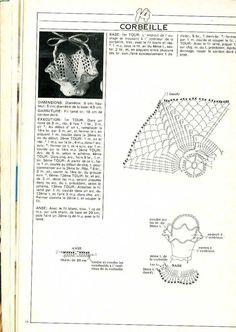 Koszyczki - Urszula Niziołek - Picasa Web Albums Crochet Vase, Easter Crochet, Thread Crochet, Filet Crochet, Crochet Doilies, Knit Crochet, Crochet Magazine, Album, Crochet Accessories