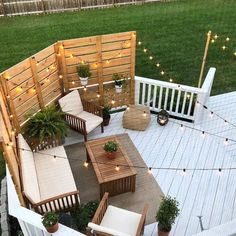 Deck Makeover Part II 2019 Shape and Color! The post Deck Makeover Part II 2019 appeared first on Backyard Diy. Deck Makeover, Backyard Makeover, Outdoor Living, Outdoor Decor, Outdoor Patio Lighting, Outdoor Hanging Lights, Outdoor Patios, Deck Lighting, Outdoor Stuff