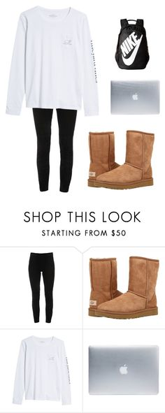 """""""""""on a Tuesday"""""""" by gabriella-16 ❤ liked on Polyvore featuring Elie Tahari, UGG Australia, Vineyard Vines, Incase and NIKE"""
