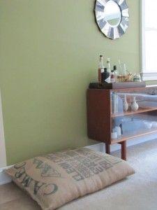 Coffee Sack Dog Bed- So cute!
