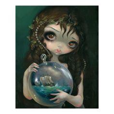 Pop Surrealism Art | Microcosm: Seascape ART PRINT Pop Surrealism from Zazzle.com