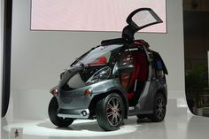 Toyota Smart INSECT city car concept makes the connection