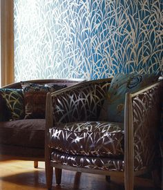 Mulberry Home fabrics and wallpapers.