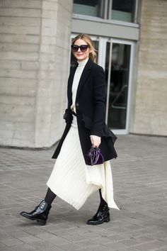 All the street style looks from LFW that will make you long for winter - Fashion Quarterly