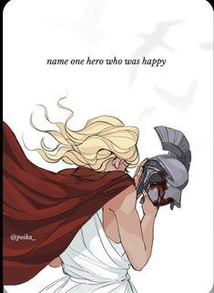 Percy Jackson Fan Art, Percy Jackson Fandom, Fanart, The Song Of Achilles, Dibujos Percy Jackson, Achilles And Patroclus, Oncle Rick, Greek Mythology Art, Roman Mythology