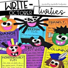 October writing craf