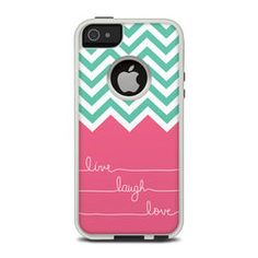 For those who love the customized OtterBox cases but dont want to spent 75+ dollars on one! I love this its currently on my phone! They have tons of different designs and all are 20% off! -OtterBox Commuter iPhone 5 Case Skin - Live Laugh Love
