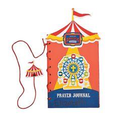 Over The Top Prayer Journal Craft Kit - OrientalTrading.com