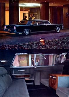 1965 Lincoln Continental Executive Limousine and Rear Compartment in Silver Blue Wool Broadcloth Lamborghini, Ferrari, Lincoln Continental, Cool Trucks, Cool Cars, Rolls Royce, Cadillac, Cool Truck Accessories, Lincoln Motor Company