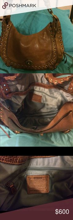 Rare Coach Hobo Leather bag. Worth 800.00. Rarely used. In beautiful condition. Coach Bags Hobos
