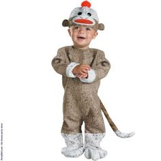 Sock Monkey Infant C