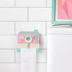 Neu im Sortiment - Polaroll Toilettenpapierhalter Color - Polaroid-Lookalike mit…
