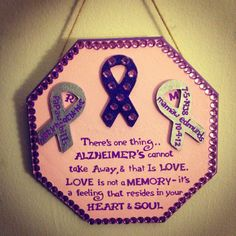 My memory plaque I made for my mamaw & boyfriends papaw that passed away with Alzheimer's!  (M.T.E) #diy #diymemoryplaque #alzheimersawareness #alzheimers #ALZ #savethememories #imissyoumamaw #handpainted #inlovingmemory #craftsbymorganMTE