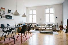 Vitra Eames Wire chairs