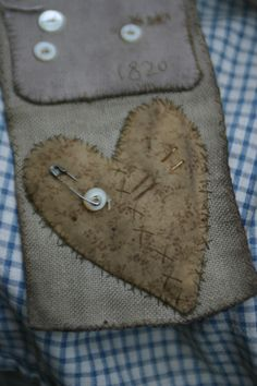 A little stitched heart