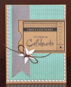 Celebrate card by Darla Weber #WRMK