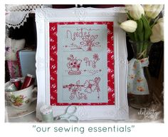 Our sewing essentials...3 patterns in one!