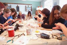 This Crafty Hen Party option is suited to anyone! Our professional crafts leader will show you all the tricks, no previous experience necessary! #HenParty #DIY #Activity #TheCraftyHen