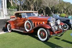 1930 Cadillac Series 452-A V-16 Roadster